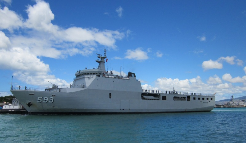 Astillero Río Santiago y Daewoo proponen construir un buque multipropósito para la Armada - Página 2 2063864