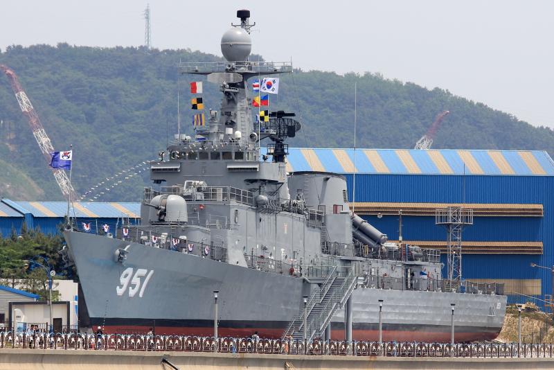 Corea del Sur donará una fragata a la Armada (será para patrullaje) 2667519