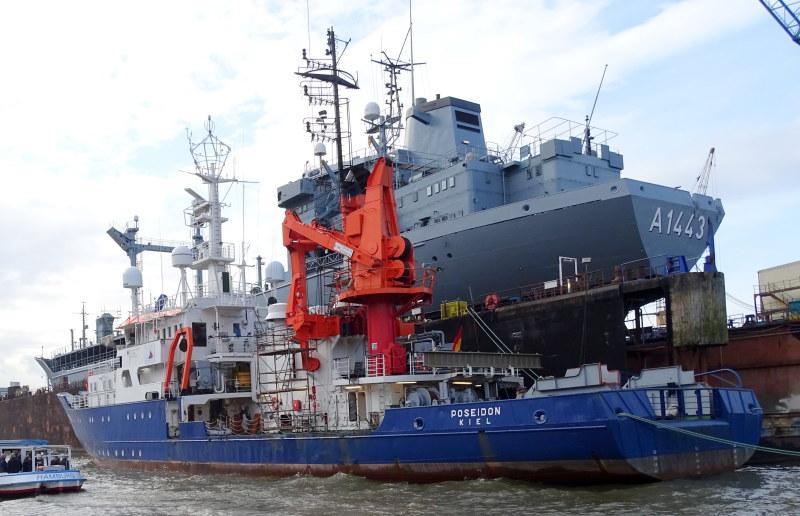 POSEIDON 1/55è Bateau océanographique allemand  2360669