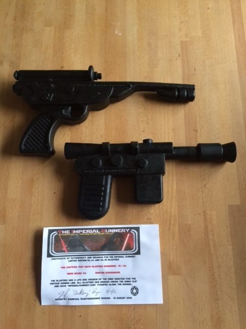 Life size blaster - TIG's Official Full Size Smuggler and Palace Blaster - *Update 9 28* Just  2 Palace Blasters Left Blastersr