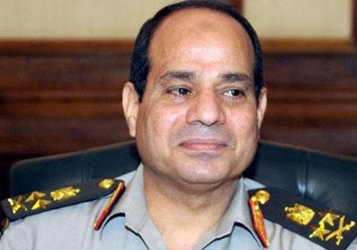 الرئيس السيسي : اتهم جهات خارجية بتقديم دعم لمنفذي حادث العريش الإرهابى Sisi-565656