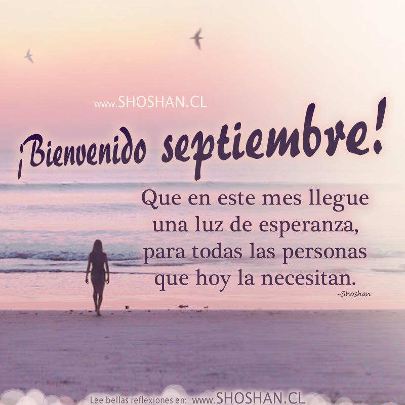 BIENVENID@ A SEPTIEMBRE Septiembre