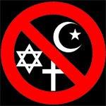 """Eliminar la religión """"por el bien del progreso humano"""" Anti-religion"""