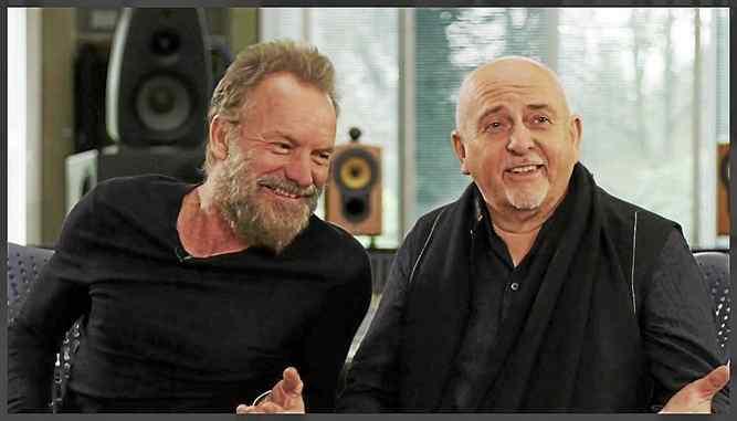 Nuovo disco Sting Sting-peter-gabriel