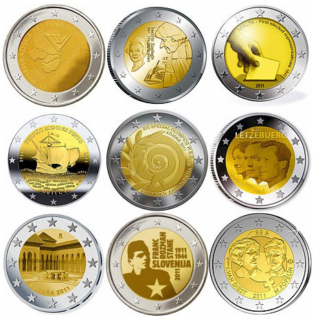 2 euro prigodne kovanice 2011