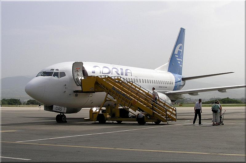 Adria Airways Slovenija Boeing-737