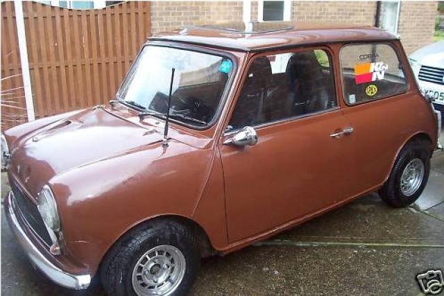 Austin Mini 1000 ˝Browny˝ Mrmini-brown