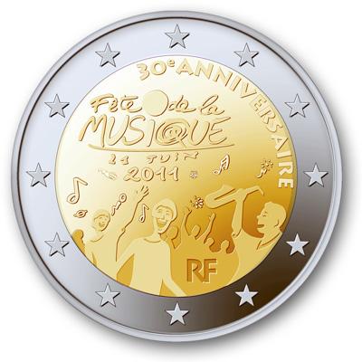 2 euro prigodne kovanice Fr2011