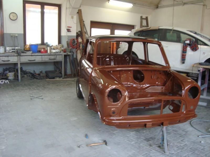 Austin Mini 1000 ˝Browny˝ Dsc03658