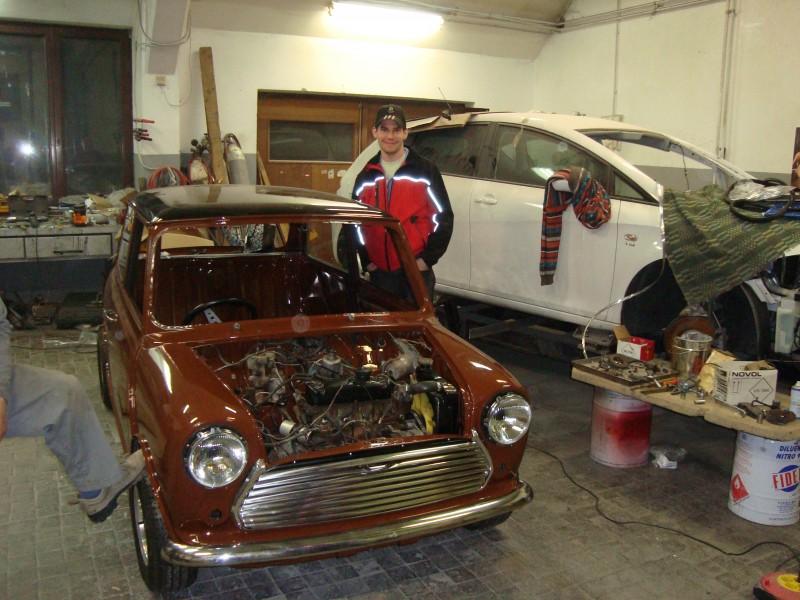 Austin Mini 1000 ˝Browny˝ Dsc03686