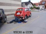 Ko ti nese prirobnico  na cesti....... P5222193
