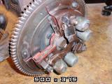 Predelan fičkov motor 750 in menjalnik za prikaz delovanja v šolah  Slike11pb271223