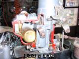 Predelan fičkov motor 750 in menjalnik za prikaz delovanja v šolah  Slike11pb271237