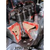 Predelan fičkov motor 750 in menjalnik za prikaz delovanja v šolah  Slike11pb271235