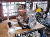 Predelan fičkov motor 750 in menjalnik za prikaz delovanja v šolah  Slike11pb271231