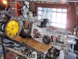 Predelan fičkov motor 750 in menjalnik za prikaz delovanja v šolah  Slike11pb271245