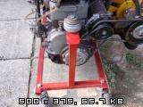 Stojalo za motor od fička Slike11p9220714