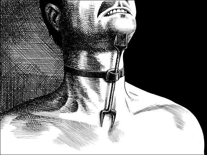 Será que sou somente eu que... Medieval-Torture-Heretics-Fork-In-Use