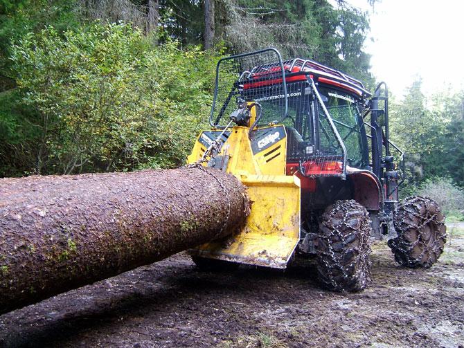 arco per trasporto tronchi Uniforest-Verricelli