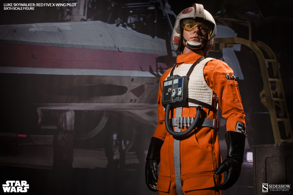 [Sideshow] Star Wars: Luke Skywalker: Red Five X-Wing Pilot Sixth Scale Figure 2132-luke-skywalker-red-five-x-wing-pilot-003