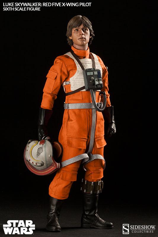 [Sideshow] Star Wars: Luke Skywalker: Red Five X-Wing Pilot Sixth Scale Figure 2132-luke-skywalker-red-five-x-wing-pilot-006