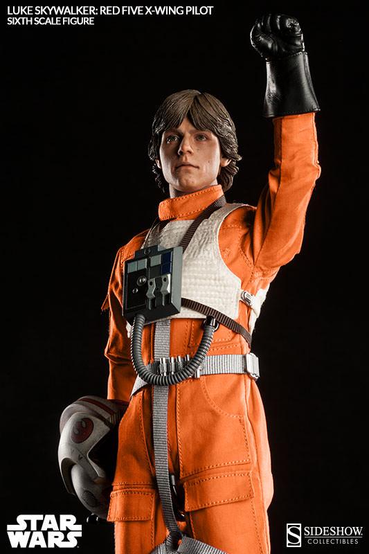 [Sideshow] Star Wars: Luke Skywalker: Red Five X-Wing Pilot Sixth Scale Figure 2132-luke-skywalker-red-five-x-wing-pilot-008
