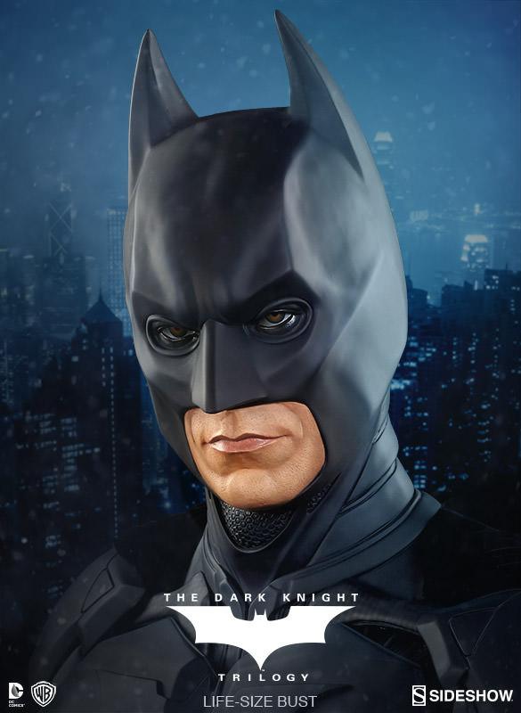 BATMAN THE DARK KNIGHT Christian Bale LIFE-SIZE BUST 400203-batman-the-dark-knight-01