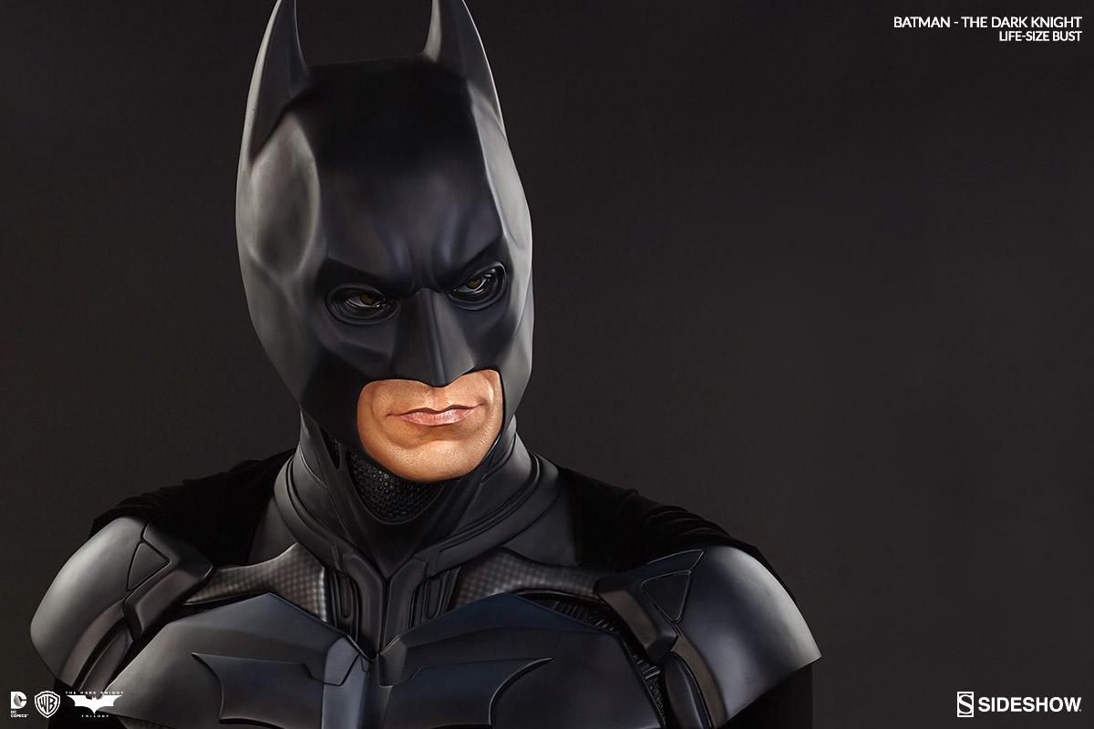 BATMAN THE DARK KNIGHT Christian Bale LIFE-SIZE BUST 400203-batman-the-dark-knight-02