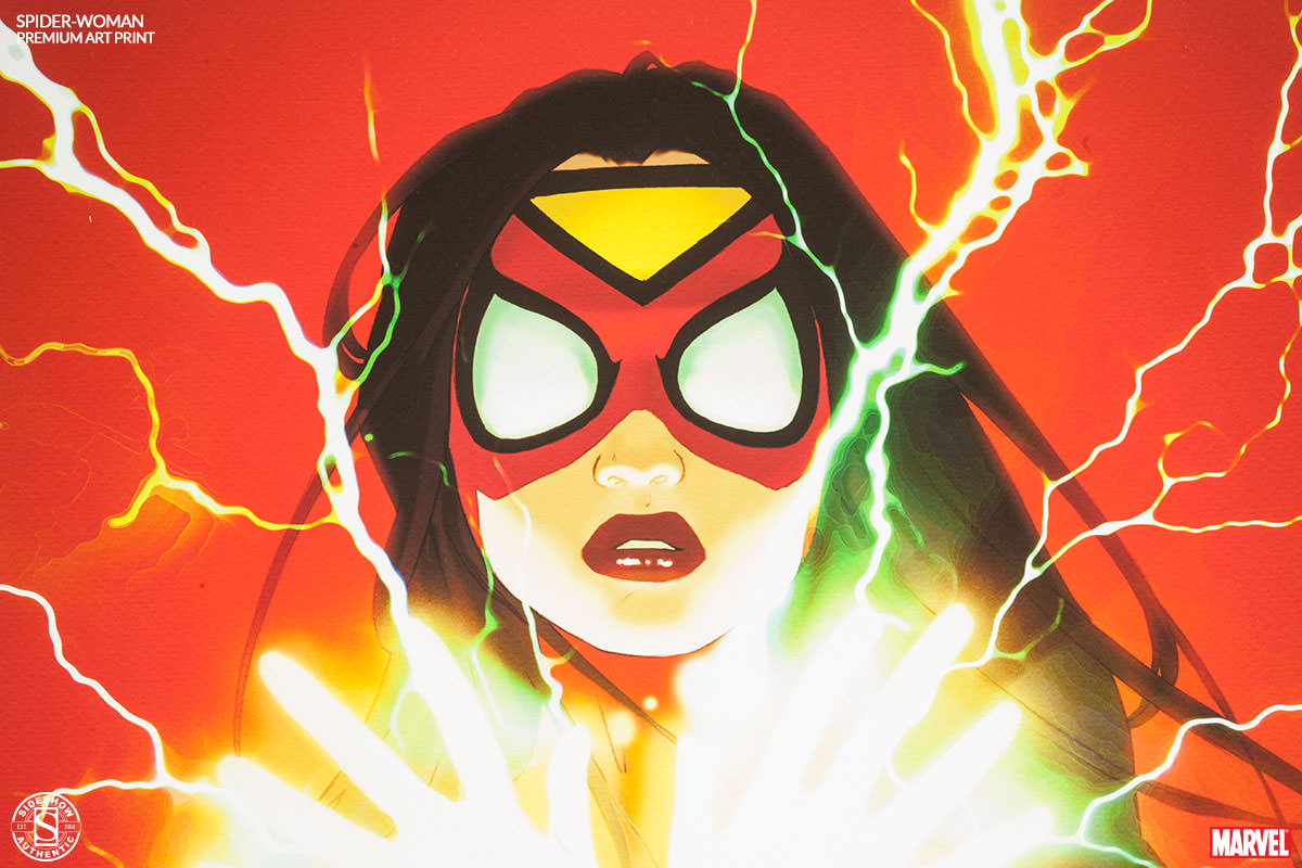 [Sideshow] Premium Art Print: Spider-Woman 500269-spider-woman-003
