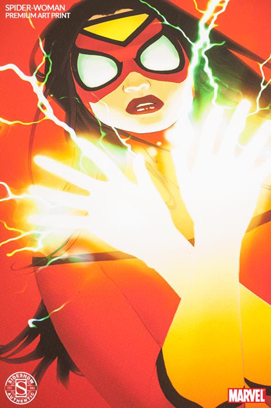 [Sideshow] Premium Art Print: Spider-Woman 500269-spider-woman-004