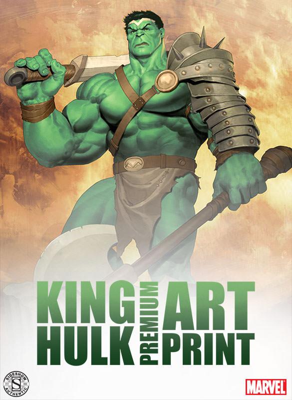 [Sideshow] Premium Art Print: King Hulk 500287-king-hulk-001