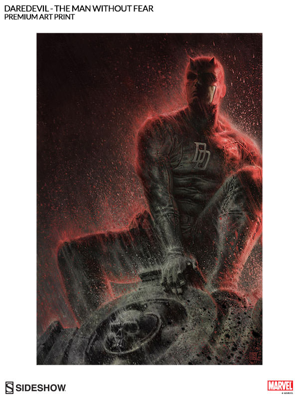 [Sideshow] Daredevil Premium Art Print 500296-daredevil-the-man-without-fear-002