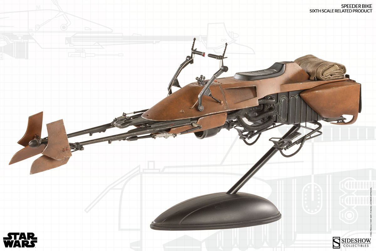 [Sideshow] Sixth Scale Figure| Star Wars: Speeder Bike  100121_press03