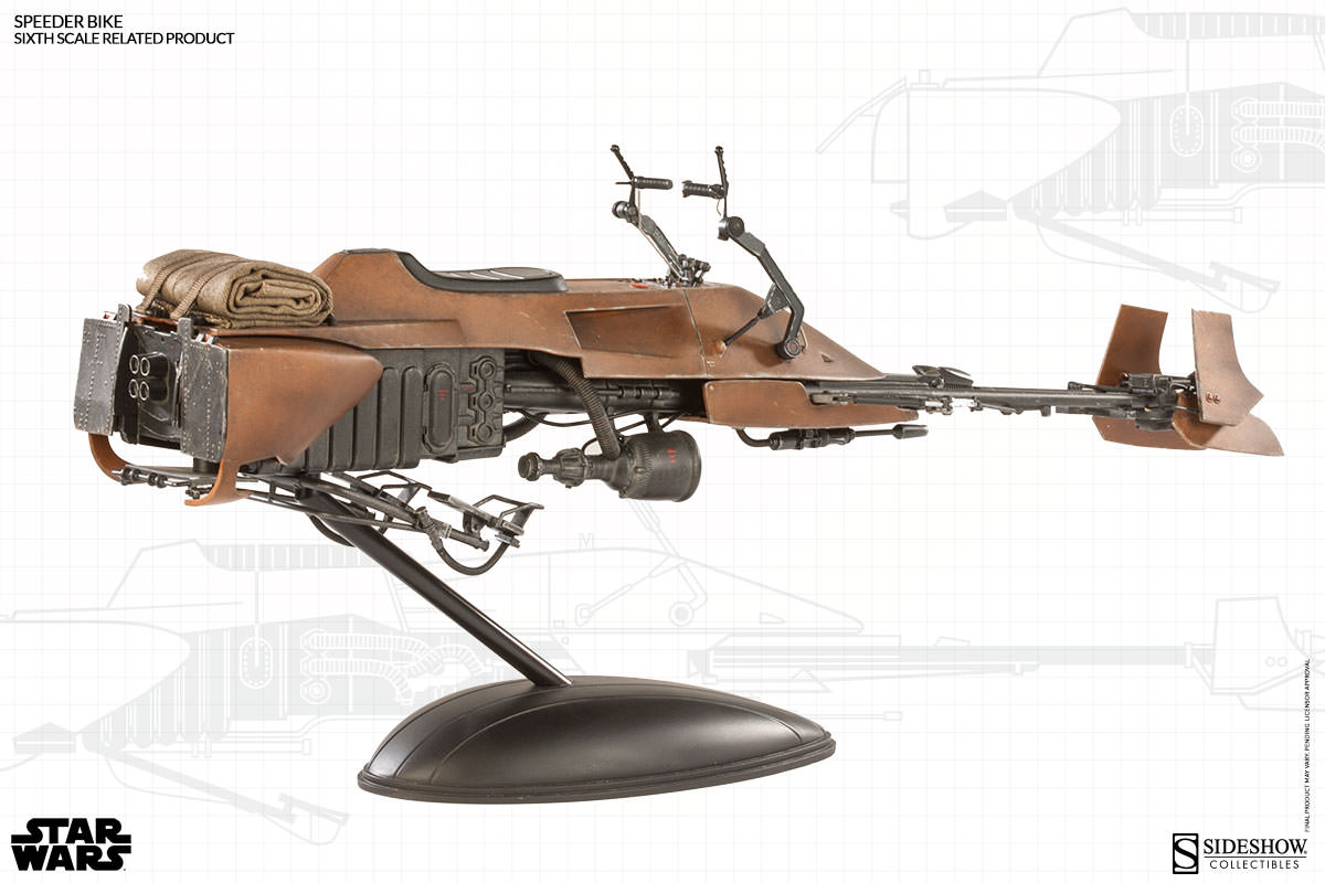 [Sideshow] Sixth Scale Figure| Star Wars: Speeder Bike  100121_press05