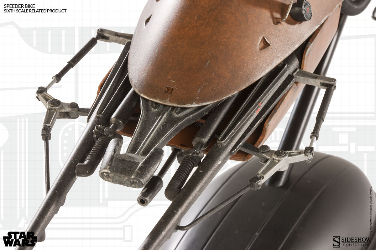 [Sideshow] Sixth Scale Figure| Star Wars: Speeder Bike  100121_press07