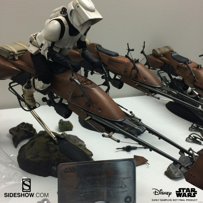 [Sideshow] Sixth Scale Figure| Star Wars: Speeder Bike  Thumbnail-2
