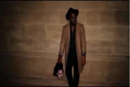 #Music » El fragmento de la canción que escuchas Kanye-west-monster-video-still-5