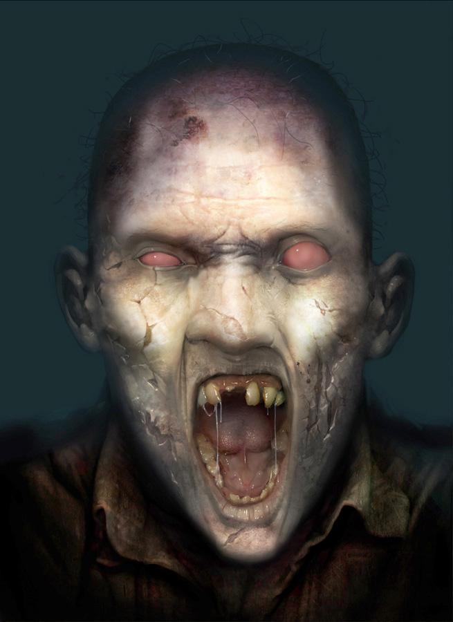 ممنوع دخول ضعفاء القلب Zombie