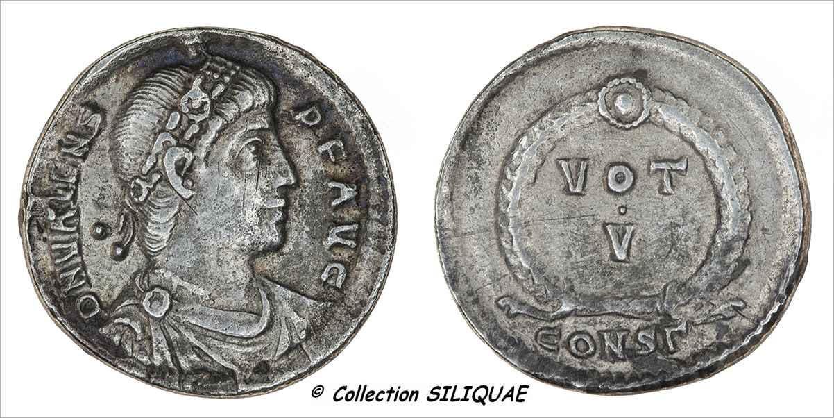 SILIQUE : VALENS (00216) 00216