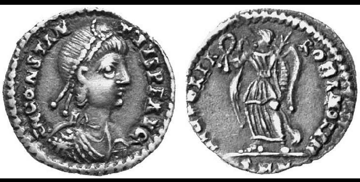 Silique de Constance II / III ?? 01205