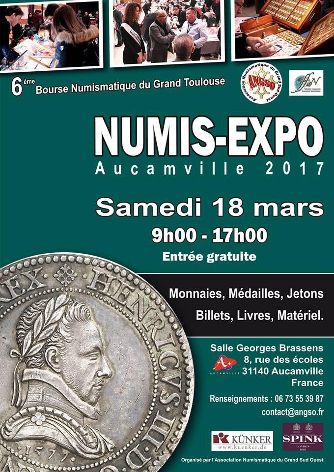 BOURSE DE TOULOUSE 2017 NumisExpo2017
