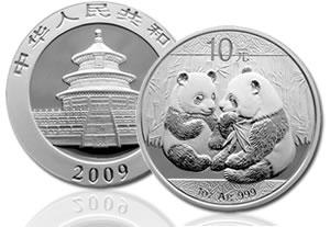 Comment la Chine fixe  les cours de l'argent ? China-2009-Sliver-Panda-Coin-Brilliant-Uncirculated-sm