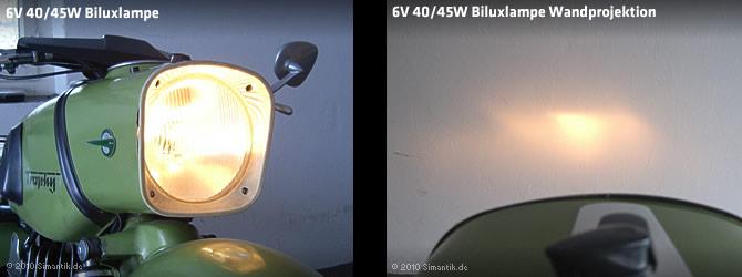 Rouler de nuit sur une ES Mz-biluxlicht-40-45w-6v