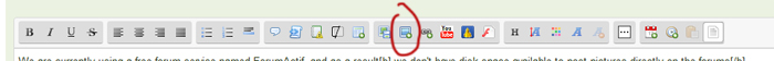 How can I share pictures on the forums? Forum_toolbar_insert_pic