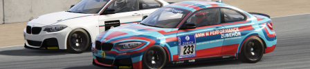 Assetto Corsa Series de Enero 2018 BMW235iAsia