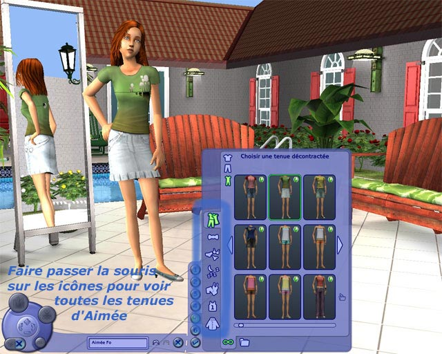 La garde-robe d'Aimee