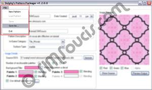 [Débutant] (Delphy's Pattern Packager) Créer une texture (Motif/Pattern) Creationtexture017bis