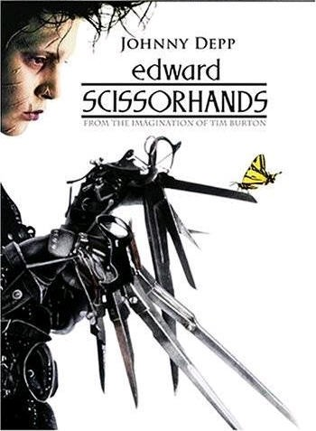 Edward Scissorhands (1990) Edvard_plakat
