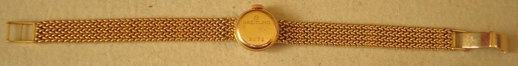 De quand date cette Breitling pour femme toute en or ? BREIT3