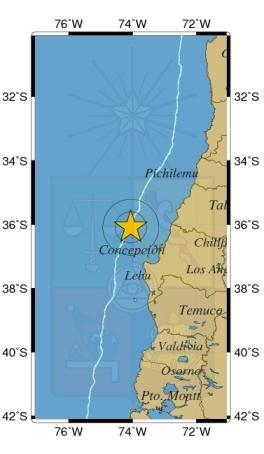 Seguimiento de terremotos Marzo 2015 18-1827-28L.S201503